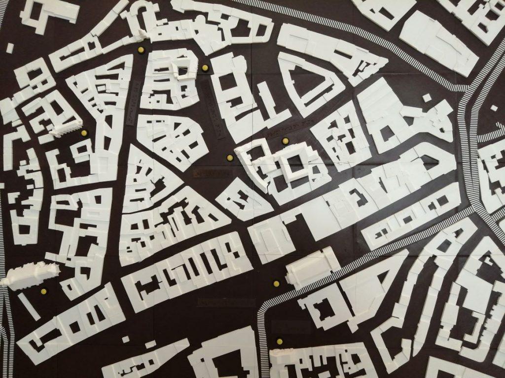 Detail haptickej mapy.